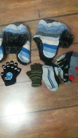 Zestaw czapka rękawiczki