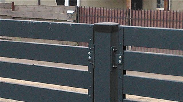 PRZĘSŁA PALISADA pozioma ogrodzenie nowoczesne ocynk + ral