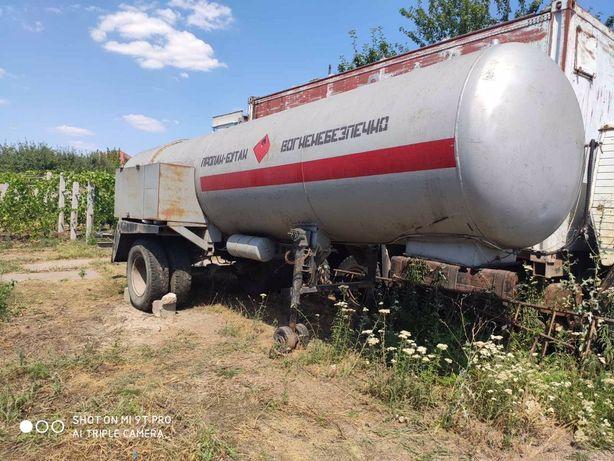 Продам полуприцеп цистерна для перевозки газа.