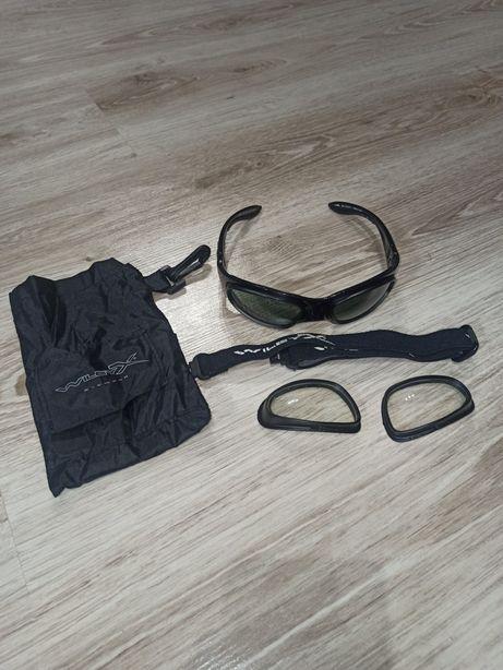Okulary balistyczne strzeleckie gogle taktyczne willey X SG1