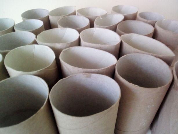 Rolki tekturowe po ręcznikach papierowych do prac plastycznych