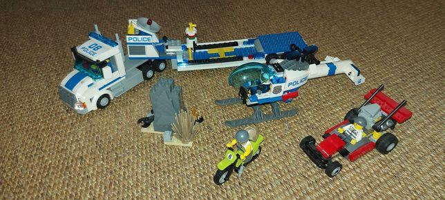 LEGO City - Transporte de Helicóptero da Polícia +5anos