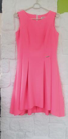 Różowa sukienka mini MIDI 38 s.morris