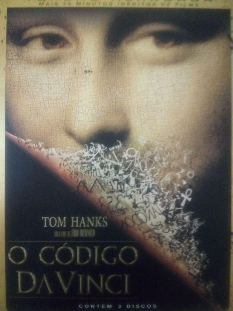 O código da Vinci 2 DVD's novos capa metálica