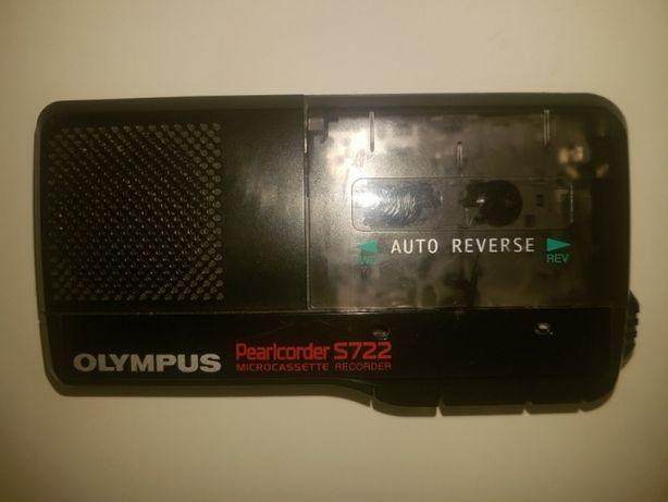 Dyktafon OLYMPUS S 722 Pearlcorder - sprawny z okresu PRL-U