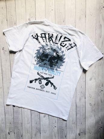 Футболка Yakuza zara harley affliction h&m diesel belstaff