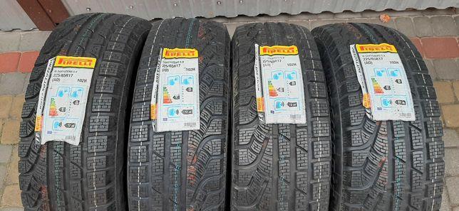 Резина зимова, нова, Pirelli Sottozero winter 210 serie II 225\65 R17
