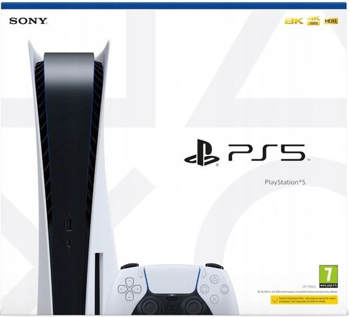 PS5 Playstation 5 BLU-RAY 825GB+ PAD DualSence WWA