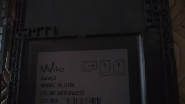Wiko Sunny 3 w_k120 para peças