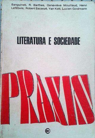 """Vendo """"Literatura e Sociedade"""" - estudos de Barthes, Lefèvre, Goldmann"""
