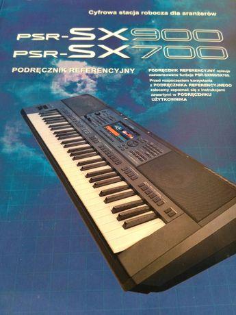 Yamaha PSR-SX700 900 Podręcznik Referencyjny - Zaawansowana Instrukcja