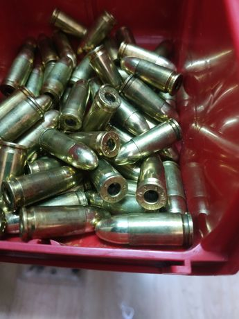 Atrapy amunicja 9x19 9mm Luger zbijaki