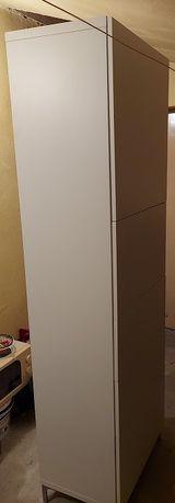 Regał IKEA BESTA o wymiarach 202 x 60 x 41, biały mat.