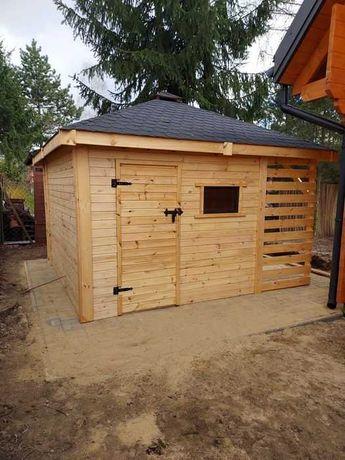 Domek narzędziowy drewniany 3x4 SANTIAGO SZYBKA REALIZACJA