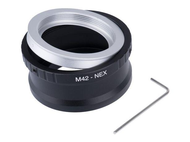 Adapter NEX - M42 dla Sony E NEX-5 NEX3 Nex-C3, L39-NEX Sony E Leica