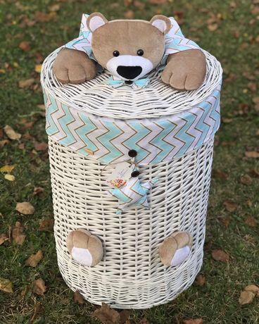 Корзина плетеная набор корзин ящик для игрушек белья хранения кухни
