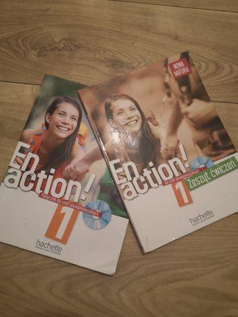 Podręcznik En Action 1 język francuski