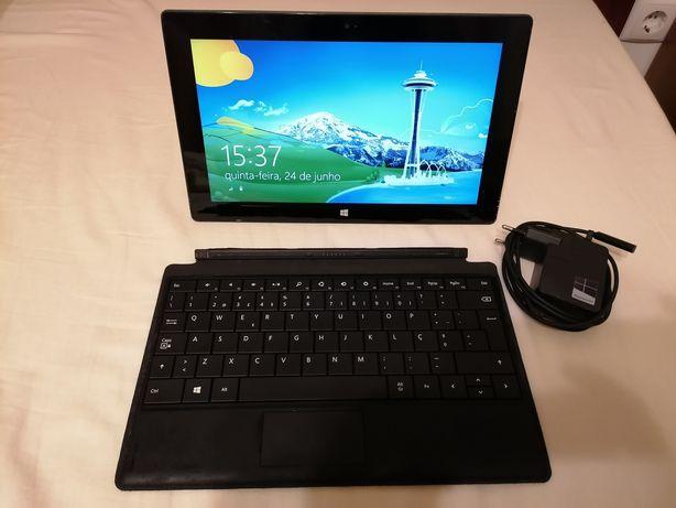 Tablet Windows Surface RT 8.1 c/ teclado oficial e carregador original