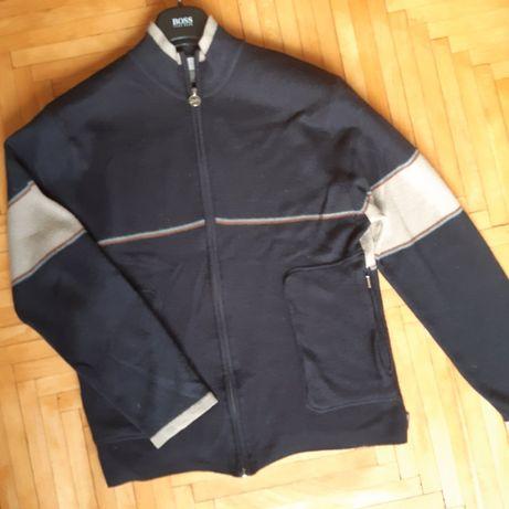Кофта на молнии мужская тепла джемпер шерсть кардиган NIKE L XL