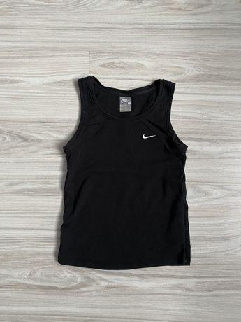 Czarna bluzka na ramiączka Nike rozmiar 168 cm
