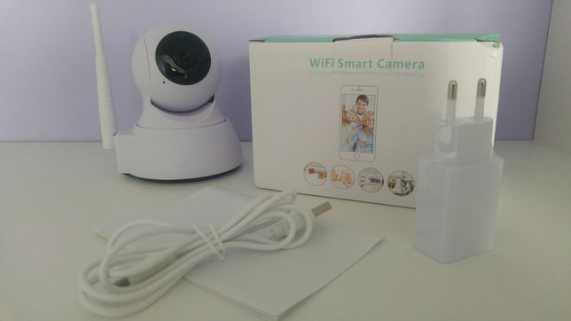 Kamera WiFi obrotowa 1080P MicroSd Monitoring