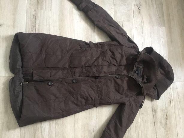 Пальто зимнее на пуху S