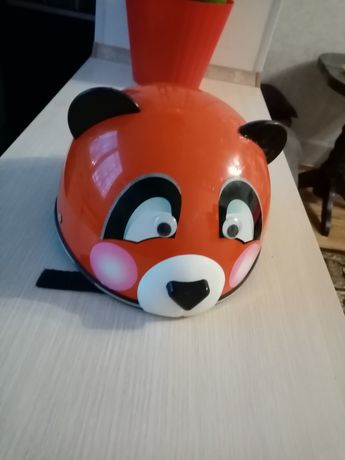 Детский шлем панда