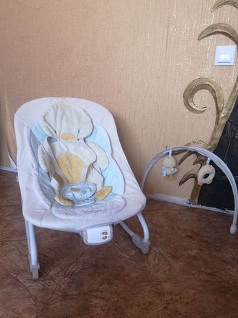 Comfort Harmony кресло качалка с музыкой