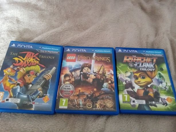 Gry ps vita ratchet and clank jak and daxter lego