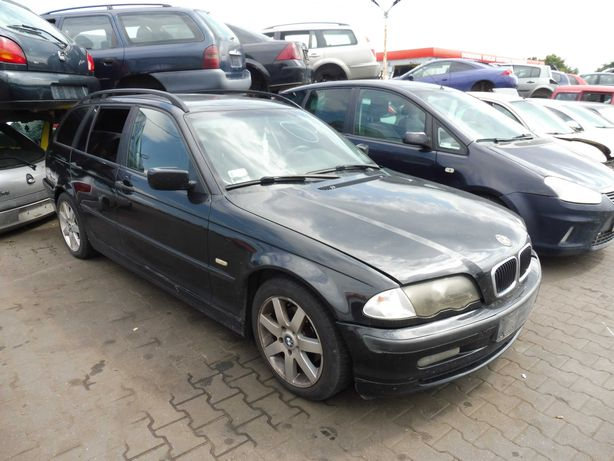 BMW 3 E46 Kombi 1.9 143 KM 194E1 S5D250G Maska Zderzak Lusterko 303/9