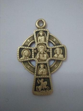 старинный крестик к.17 нач.18вв
