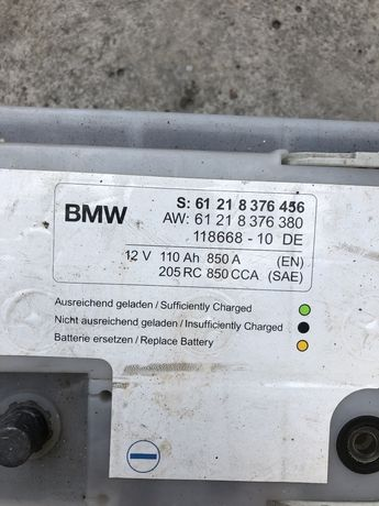 Аккумулятор 110Ah - BMW E60 оригинал