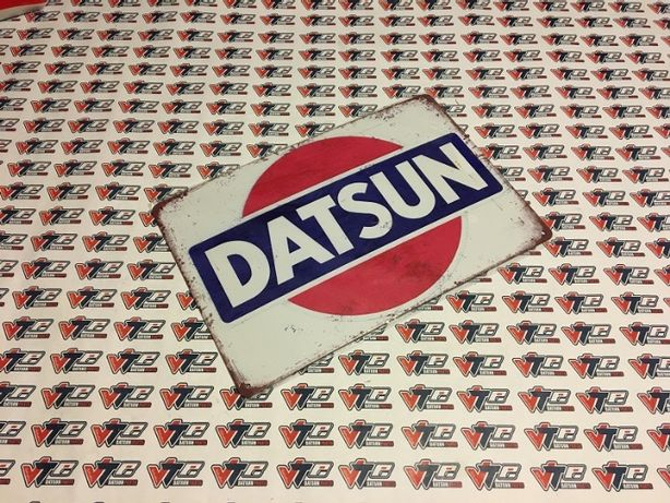 Placa decorativa Datsun