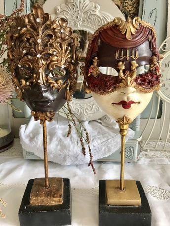 Венецианская маска на постаменте,статуэтка,декор