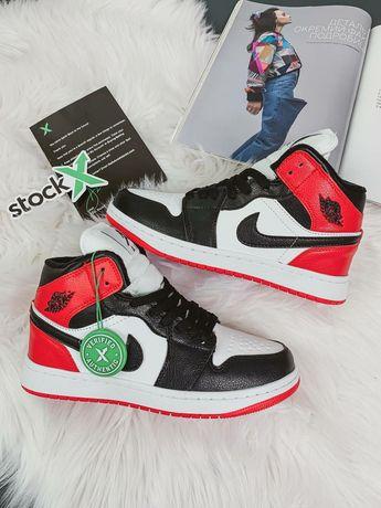 Кроссовки зимние Nike Air Jordan / Найк Аир Жордан / ботинки с мехом