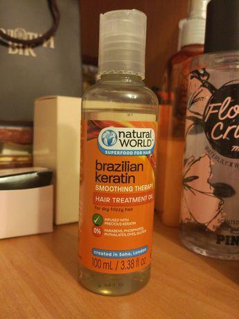 Кератин для волос Natural world