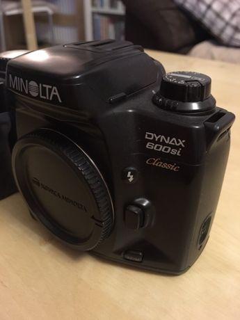 Lustrzanka MINOLTA Dynax 600si Classic, półprofesjonalny Aparat fotogr