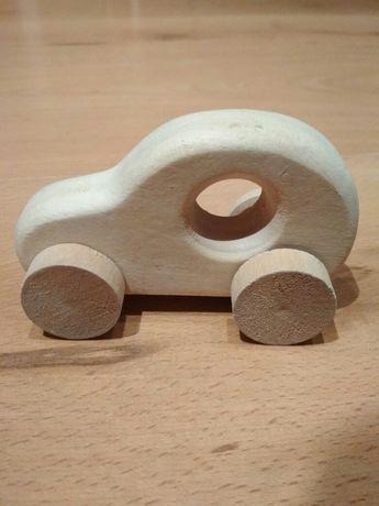 Samochód drewno surowe