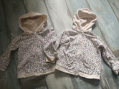 Bluzy zara rozm 110 dla bliźniaczek