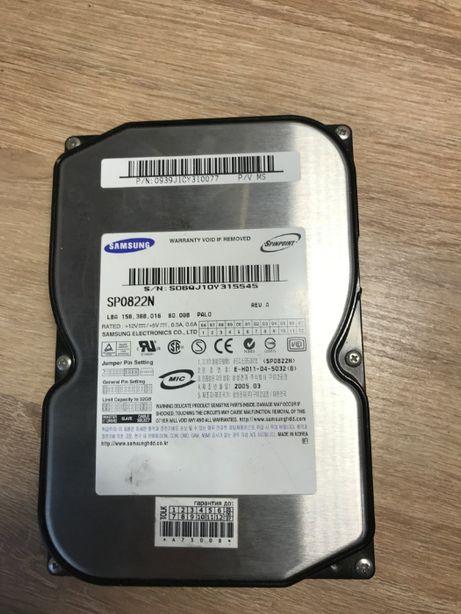Жесткий диск HDD IDE/ATA Samsung 80 Gb