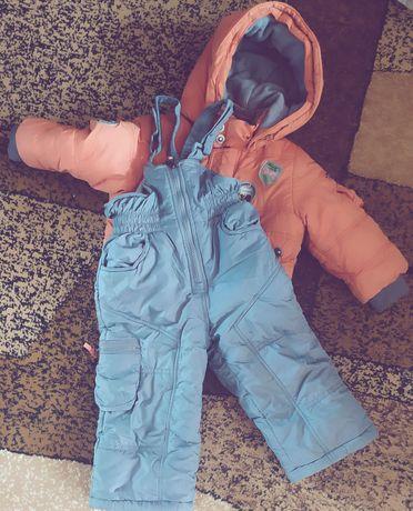 Комбінезон зимній штани+куртка