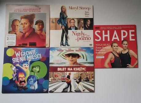Płyty DVD filmy, bajki i trening