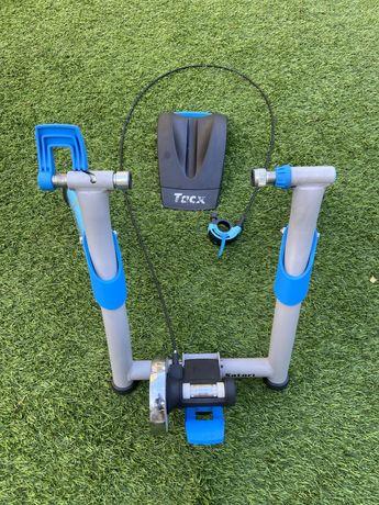 Rolo de treino Tacx  + sensor de velocidade Garmin