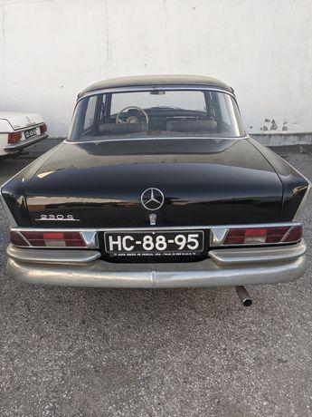 Mercedes rabo peixe 230s