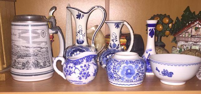 Фарфоровая посуда , старинная фарфоровая утварь