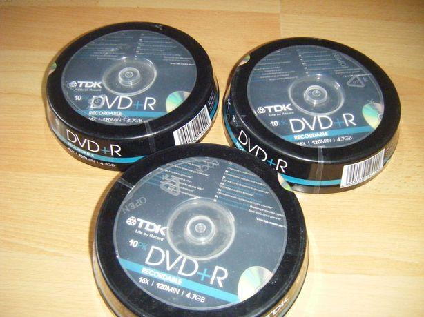 DVD R диски TDK (лот)