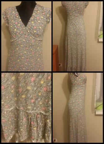 Ciążowa sukienka maxi wzór 32