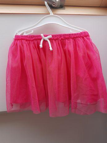 Nowa Tiulowa różowa spódniczka 86