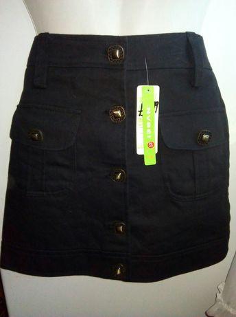 Продам джинсовую черную юбку для школы