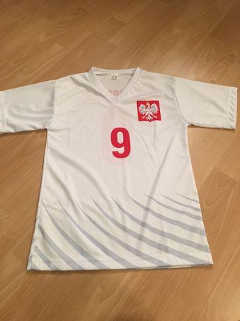 "Koszulka chłopięca piłkarska ""Lewandowski"" nr 9"